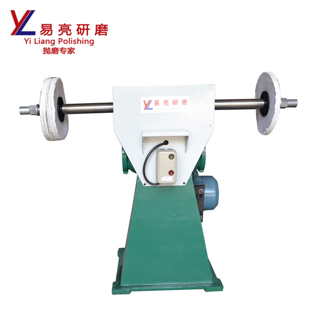 surface grinder used metal polishing machine for spoon with double head for grinding metals