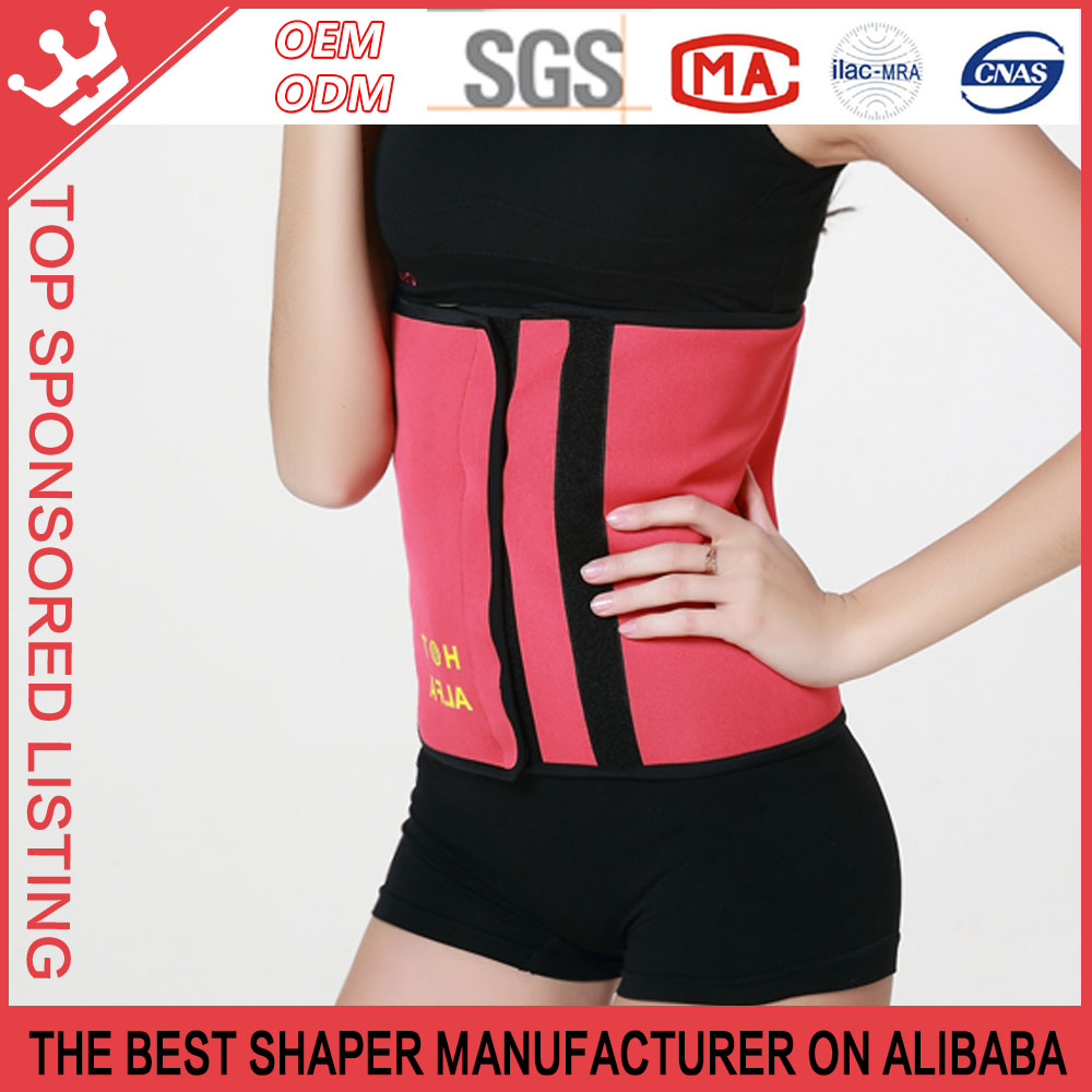 Women super Sweat Thermal hot shaper Fajas waist training corsets wholesale P184
