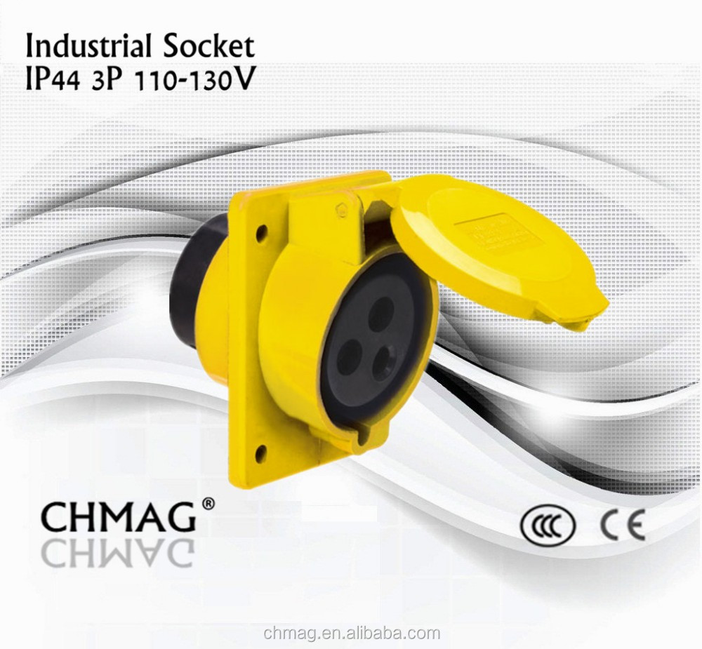 Ieccee Male Female Plug Socket 413-4