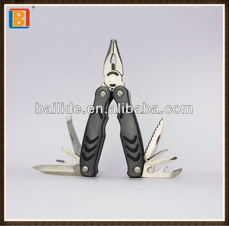Different Color Altertive Stainless Steel Multifunctional Pliers Hand Tools With Aluminum Handle