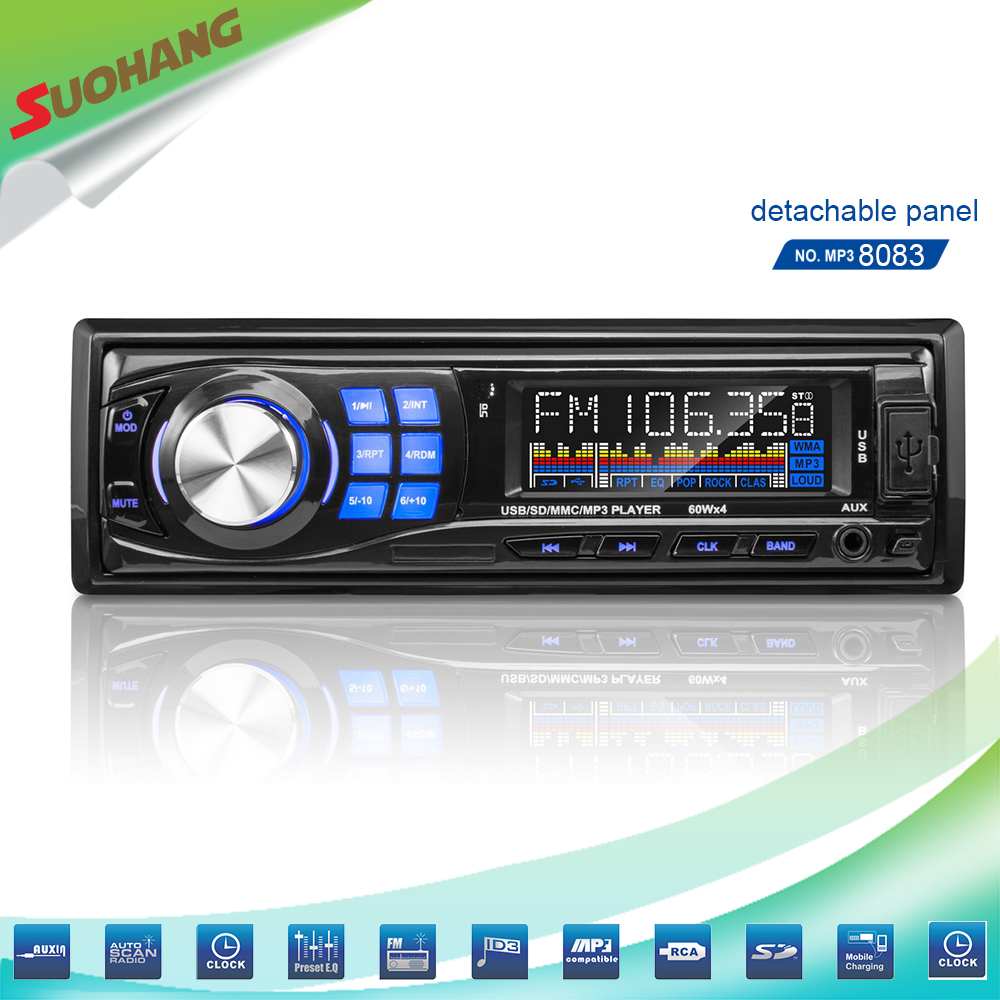 Wholesale cheap bluetooth-enabled car audio with fm/am function