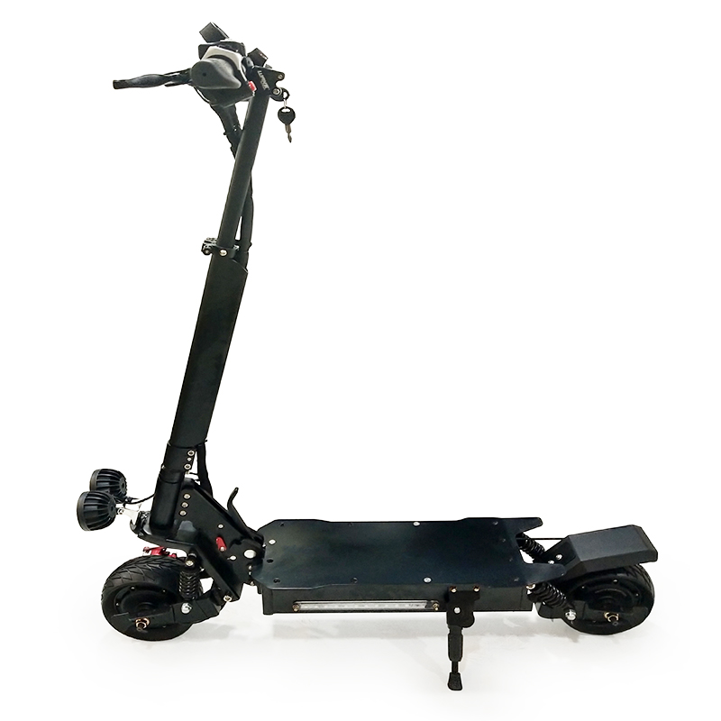 350W 48V 20A powerful foldable electric scooter adult with fat tire off road long distance lithium battery 2 wheels hot sale, Black grey red golden