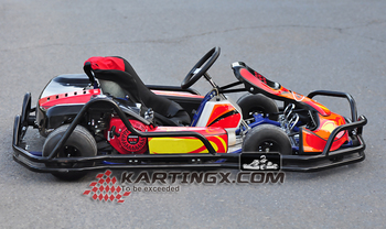 Stable Quality 270cc 9hp Adult Petrol Racing Go Kart Karting For