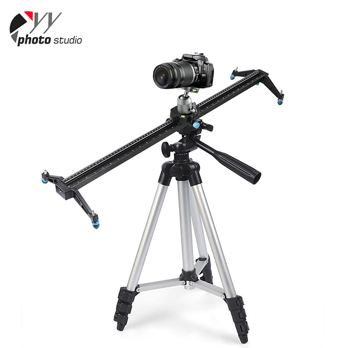 60/80/100/120/150CM Photography easy to carry camera slider on tripod
