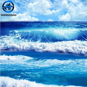 Ocean room 3d designs ceramic wall and floor 3d floor art and murals 3d tiles