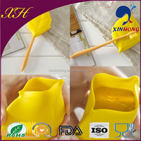Travel Silicon Folding Cup/Covered Bathroom Toothbrush Holder