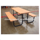Wholesale Wooden Picnic Table Chair Set, Wooden 2 Seat Bench With Table