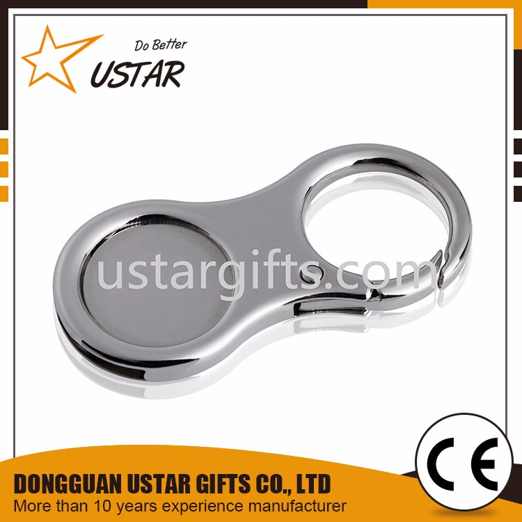 Wholesale Supermarket Shopping Cart Printed Token Key Chains