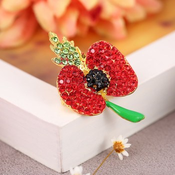 Wholesale beautiful flower shaped poppy pins badge manufacturer wholesale beautiful flower shaped poppy pins badge manufacturer mightylinksfo