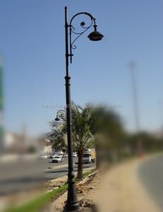 Decorative Cast Iron Street Lighting Pole For