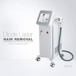 VCA Laser Soprano Alexandrite Permanent 808nm Diode Laser Hair Removal Machine Price For Sale