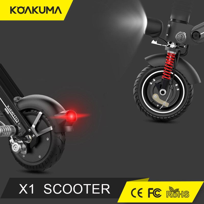2017 new folding motor electric scooter two wheel 10 inch electric bike