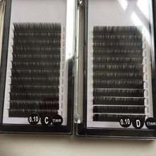 handmade lashes extensions individual mink eyelash extension high quality extension of eyelashes 0.07 for sale