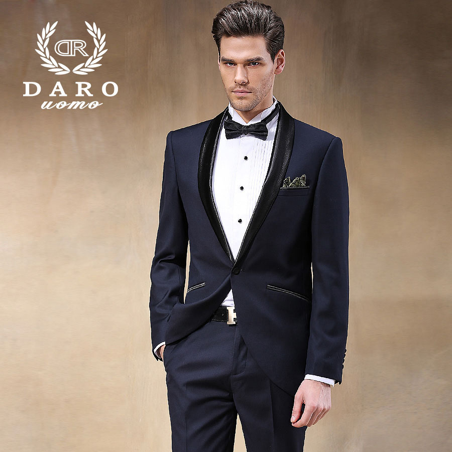Brand DAROuomo 2015 New Arrival Male Wedding Dress Tuxedos