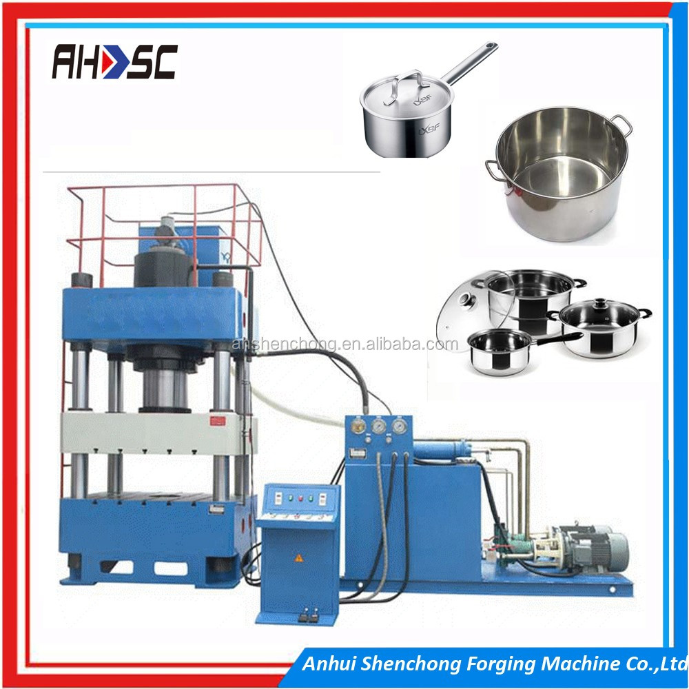 Four pillars hydraulic press machine for motor stator servo system control four columns press machine