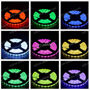 Factory Price LED Strip 12V 5050 RGB IP65 5m/roll LED Flexible Strip Light