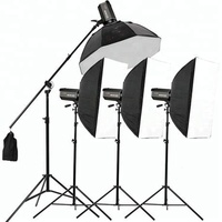 Professional light diffuser studio softbox kit for camera photography