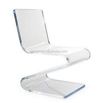 Gage Acrylic Side Z Chair Clear Acrylic Ghost Chair For Wholesaler