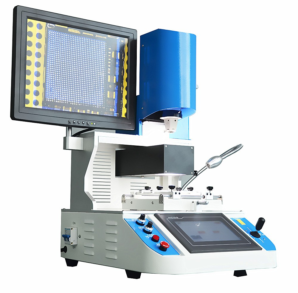 Automatic BGA Rework Station LY 5300 infrared and hot air Mobile BGA Welding Machine with optical alignment