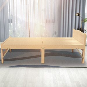 Wholesale High quality solid wooden folding guest bed for bed room on sale