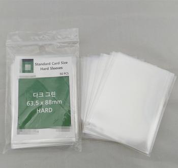 b59ef1cb58e Custom Clear Card Deck Protector Card Sleeve For Mtg Standard ...