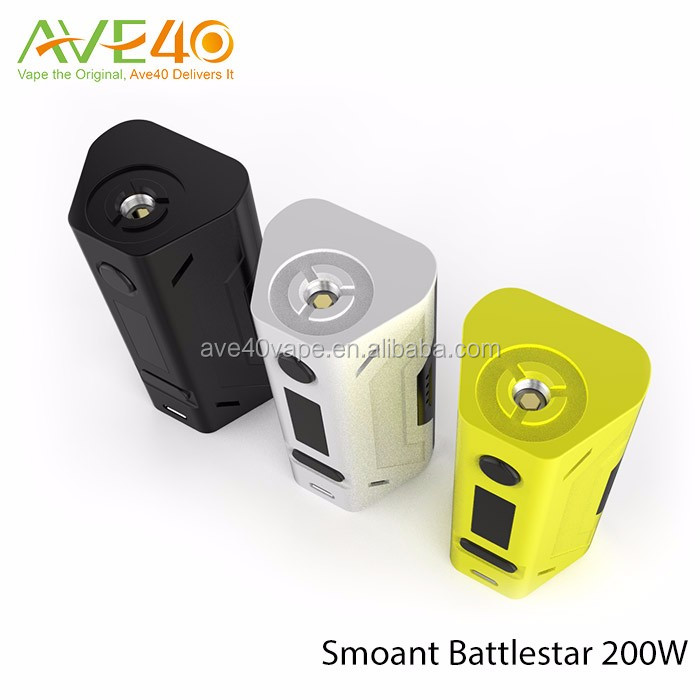 Smoant Battle star 200W TC mod battlestar VS WISMEC Reuleaux RX200S