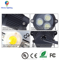 9W LED Garden Landscape flood light Lawn lamp IP67 Waterproof Outdoor lighting Yard LED Path Wall lamp