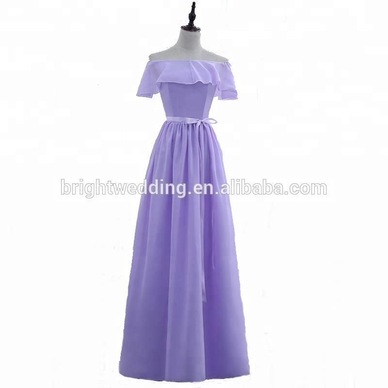 Venta al por mayor vestidos damas de honor rosa clara-Compre online ...