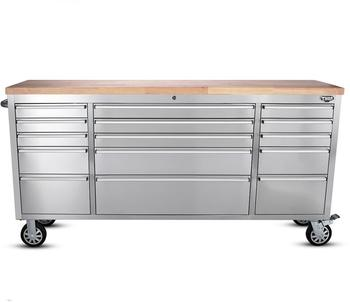 Awesome Heavy Duty Stainless Steel 15 Drawer Workbench Rolling Workbench With Wheels With Drawers Buy Workbench Mobile Workbench Garage Workbench Product On Spiritservingveterans Wood Chair Design Ideas Spiritservingveteransorg