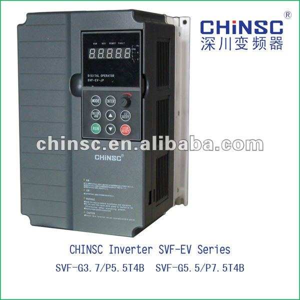 3.7/5.5kw 380v High performance vector general variable frequency inverter