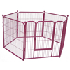 Large metal pet home play yard exercise pen dog kennel fence dog house outdoor