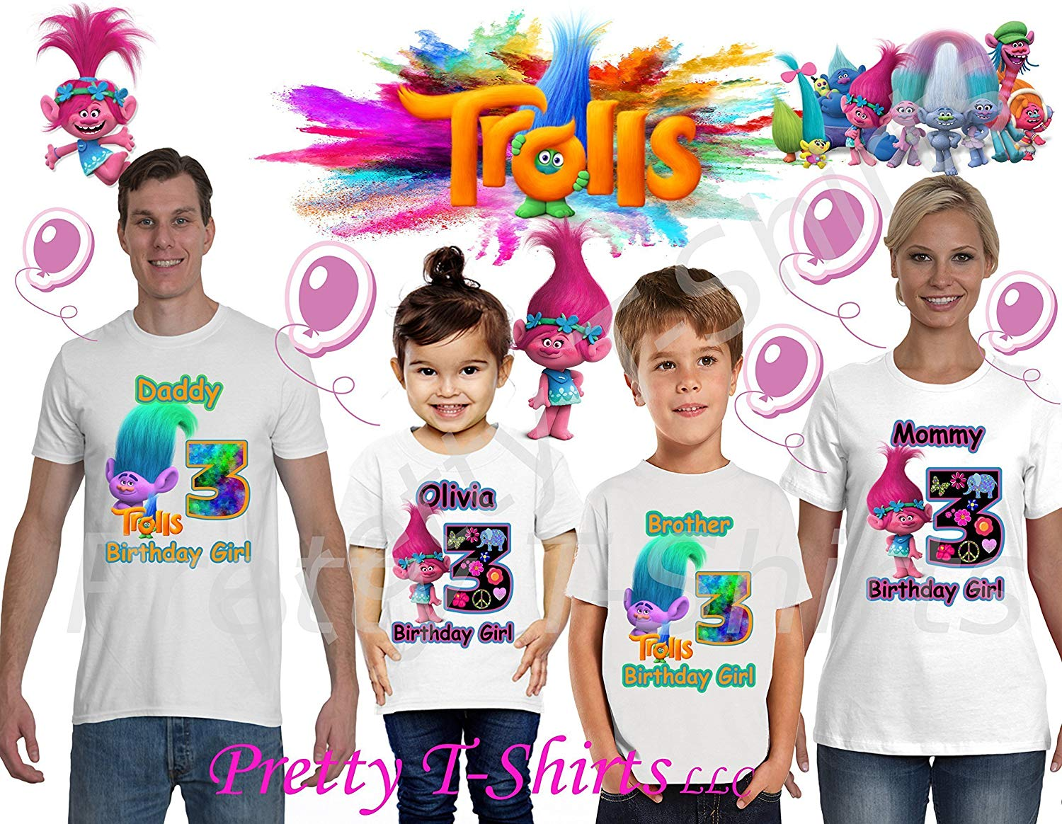 ADD any name /& age Sesame Street Abby Cadabby Birthday Shirt VISIT OUR SHOP!! Abby Cadabby Shirt Party Favor FAMILY Matching Shirts