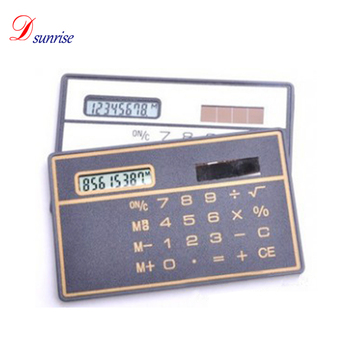 Stationery School Student Function Calculator Credit Card Sized