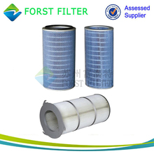 FORST Pulse Jet Dust Collector Pleated Cartridge Filters