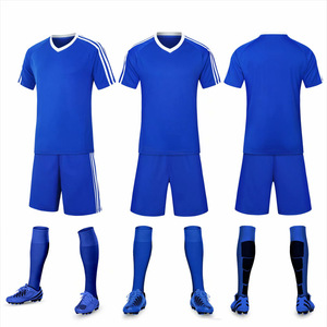 hot sell sublimation football club high quality men short sleeve soccer wear jersey