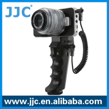 JJC HR-DV Pistol Grip Handle Stabilizer for SONY DV Camcorder with A/V R or LANC Port & Blackmagic Pocket Cinema Camera(BMPCC)