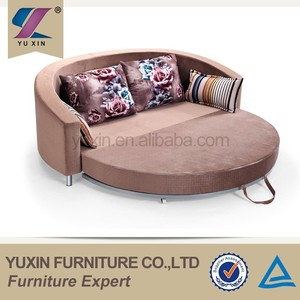 semicircle arch round luxury sofa bed