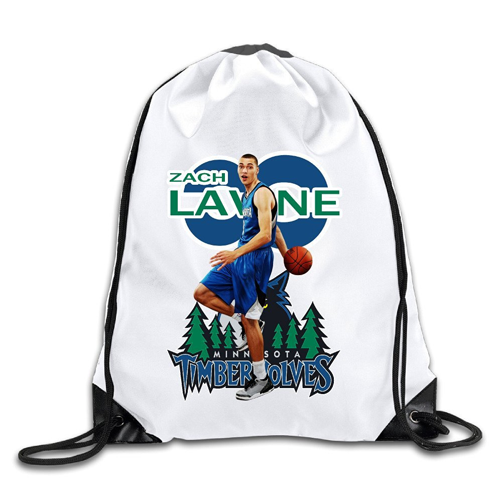 1f79e7c7d Get Quotations · XJBD Custom Zach Lavine 66 Superb Travelers Backpack White