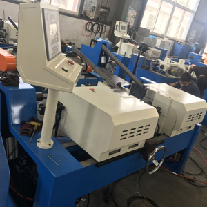 Double head automatic DF-AC/50 chamfering machine