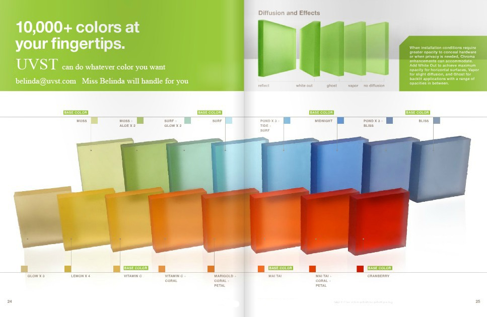 3 Form Acrylic Panels : Form chroma acrylic panel for decorative