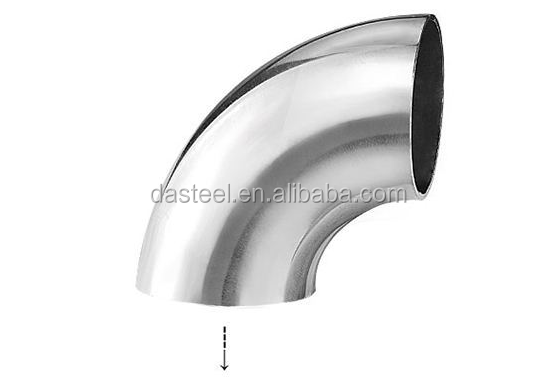 "Stainless Steel Bends 1.4541 Elbow Quality Angle Head Size Seamless:from 1/2"" to 24"" Welded:from 24"" to 96""( or as customer requ"