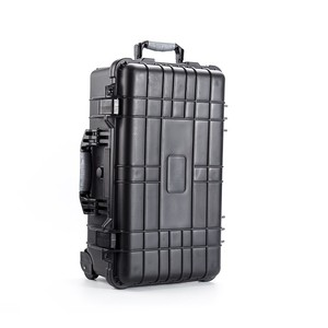 Portable trolley fishing rod tool case hard waterproof fly fishing rod case promotion make up box