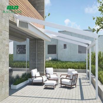 Rétractable Télécommande Système Pare-soleil Balcon Couverture Terrasse  Auvent - Buy Toit De Terrasse,Toit De Balcon Rétractable,Auvent Rétractable  ...