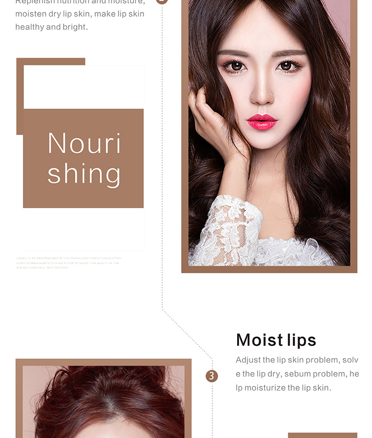 2019 New Design Gold Sexy Crystal Lip Membrane Collagen Moisture Essence Plump Essentials Mask for Lip Care Cosmetic Tool