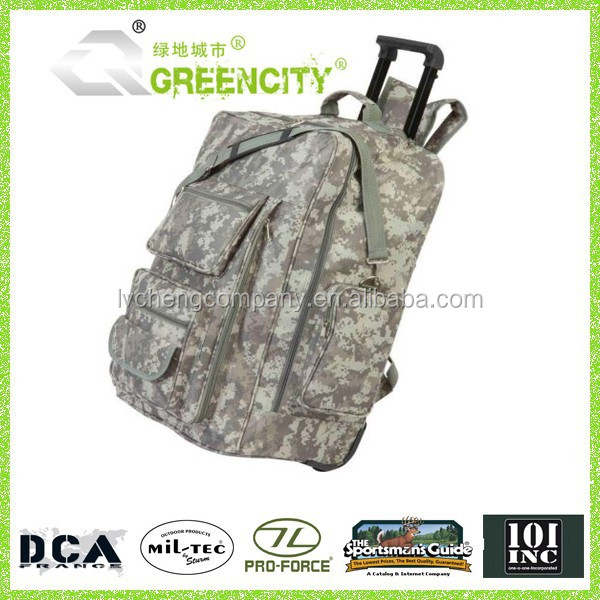 New Style Outdoor Camo Trolley Backpack