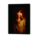 Handpainted Canvas Art Chinese Girl Oil Painting with High Quality