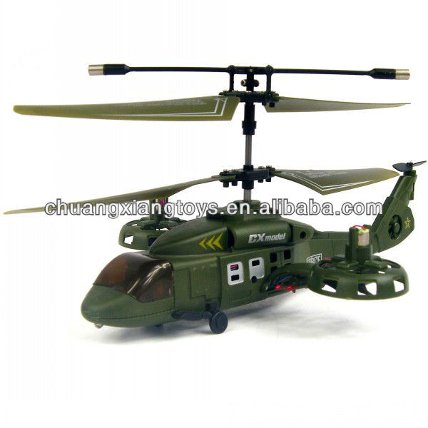 4CH avatar side flying rc helicopter with gyroscope system