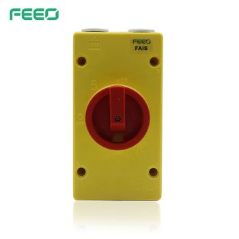 Factory price IP66 Load Break Voltage 3P Fuse Switch Disconnector with CE certificate