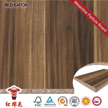 Melamine faced particle board laminated veneer hpl for Particle board laminate finish