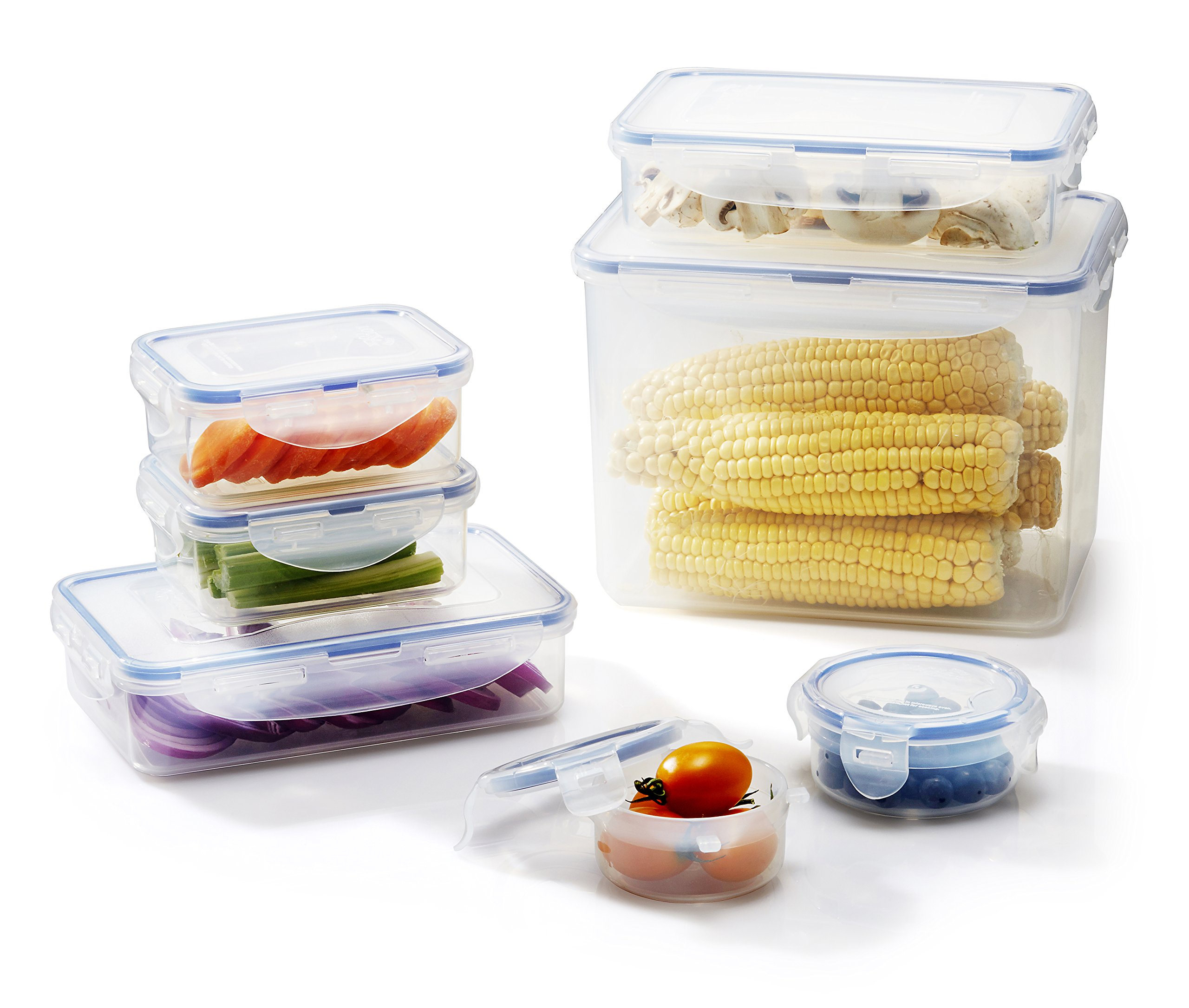 Superieur Get Quotations · LOCK U0026 LOCK 14 Piece Assorted Food Storage Container Set